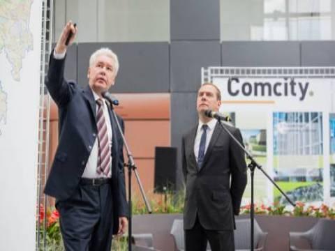 Dmitry Medvedev, Rönesans Holding'in Comcity şantiyesini ziyaret etti!