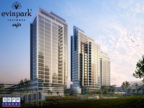 Evinpark Rezidans Safir ve Platin projeleri Fikirtepe'de inşa ediliyor!