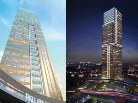 Palladium Tower Ataşehir projesinde 895 bin dolara!