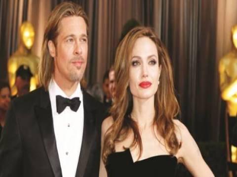 Angelina Jolie, Brad Pitt'e doğum günü hediyesi olarak içinde şelale olan arsa aldı!