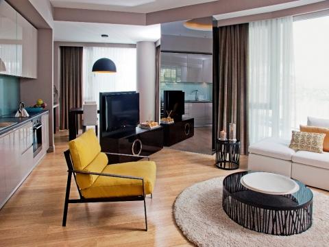 Terrace Tema'nın örnek dairesi hazır!