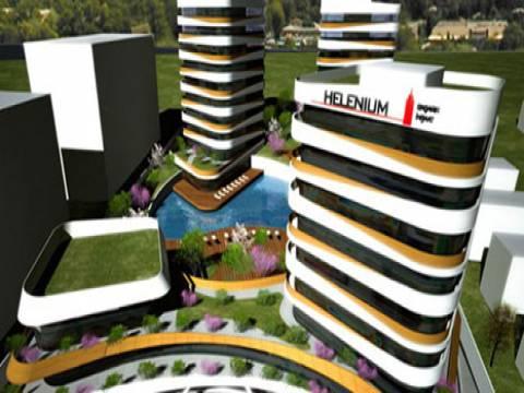 Helenium Garden'da çepeçevre bahçe! 69 bin liraya 1+0!