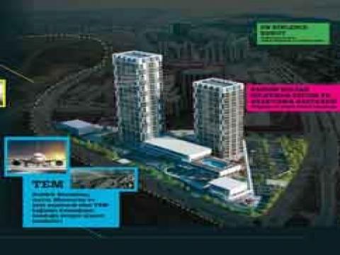 Dumankaya Miks projesinde ticari alanlar satışa çıkıyor!
