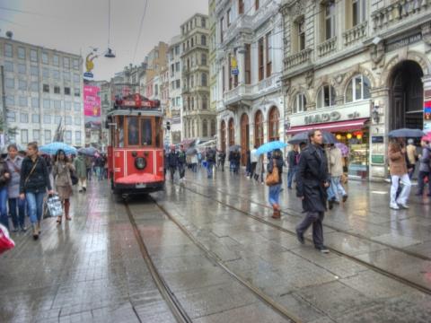 İstanbul'da en yüksek kira Beyoğlu'nda!