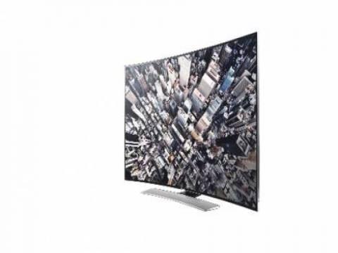 Samsung U900 kavisli Ultra HD televizyon serisi!
