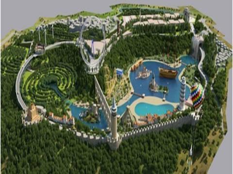 Türkiye'nin ilk temalı parkı Vialand açıldı!