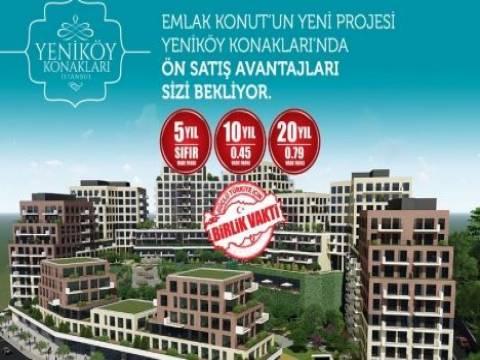 Alibeyköy Yeniköy Konakları teslim tarihi!