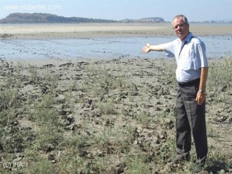İzmir Kuş Cenneti'ni kuraklık vurdu!