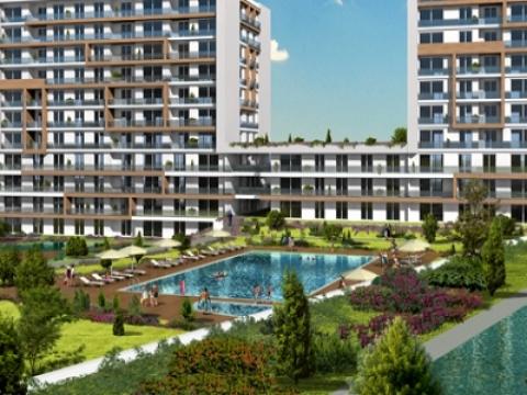 Halkalı Lounge 2'de 3+1 evler 378 bin lira!