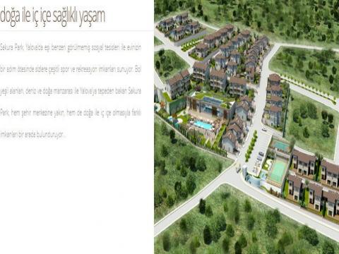 Yalova Sakura Park projesinde maksimum fiyat 1 milyon 70 bin TL!