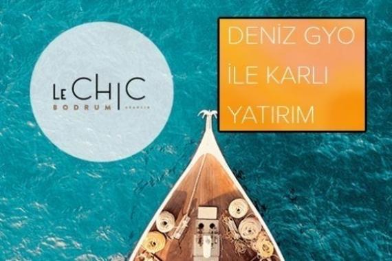 Le Chic Bodrum'da 405 bin Euro'ya! Yeni proje!