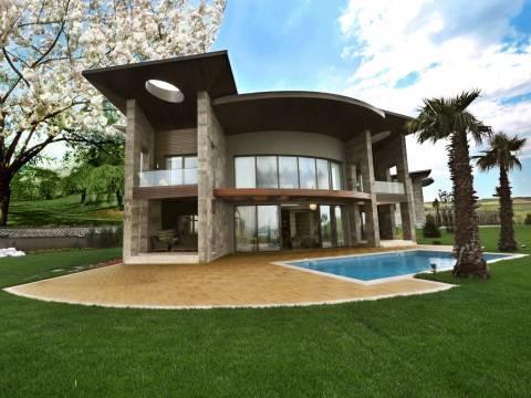 Göl Mahal Villaları'nda fiyatlar 1 milyon 295 bin dolardan başlıyor!