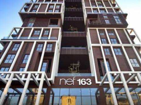 Nef Flats Levent 163'te kiralık ofisler 1.500 TL'ye!