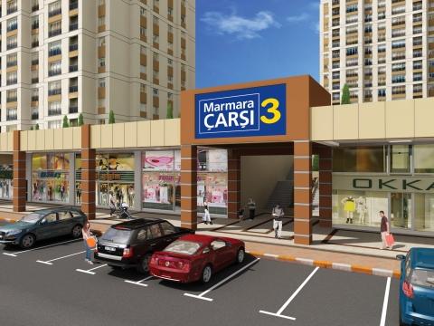 Marmara Çarşı 3 satışta! Mağazaların metrekaresi 7 bin TL!
