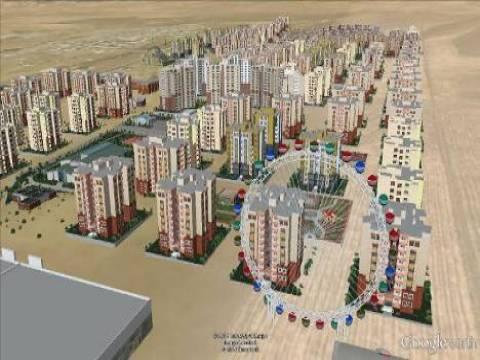 Kuzey Irak'ın en büyük konut projesi Avrocity 3DKonut.com'da sergileniyor!