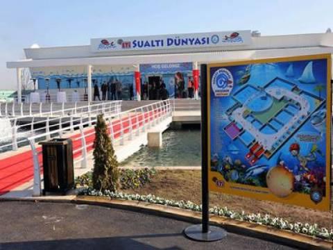 Eskişehir Sualtı Dünyası'nı 24 günde 100 bin kişi ziyaret etti!