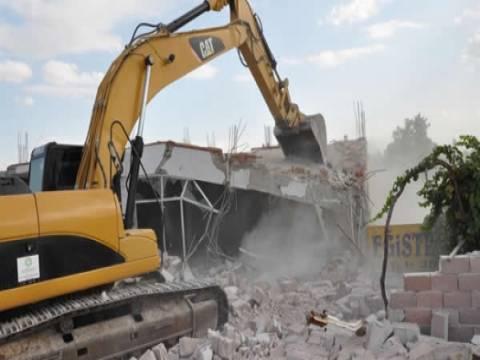 Kaçak bina yıkımı nasıl yapılır?