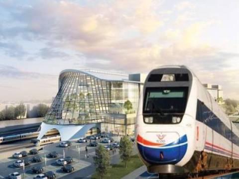 Yüksek Hızlı Tren hatları için 21 modern gar yapılacak!