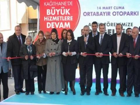 Kağıthane'de Ortabayır Yeraltı Otoparkı törenle hizmete açıldı!