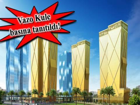 Dap Yapı Vazo Kule lansmanı yapıldı! 179 bin TL'ye!