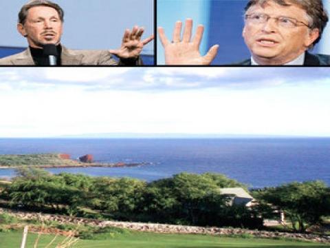 Lanai Adası'nın yüzde 98'ini Oracle'ın CEO'su Larry Ellison satın aldı!!