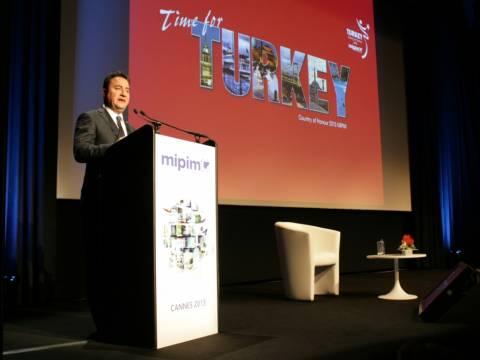 MIPIM Fuarı'nın resmi açılışını Ali Babacan gerçekleştirdi!