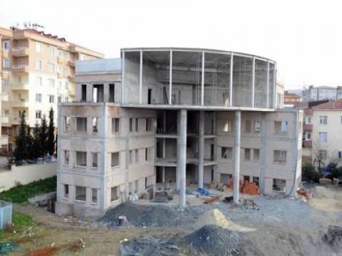 Evren Kültür Merkezi ve Bilgi Evi'nin inşaatı sürüyor!