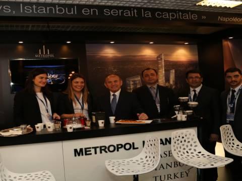 Protokol MIPIM'de Metropol İstanbul standını ziyaret etti!