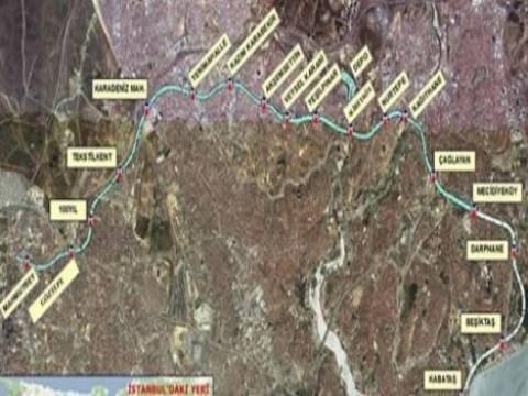 Mecidiyeköy-Mahmutbey metrosunun temeli 9 Şubat'ta atılıyor!