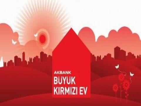 Akbank Büyük Kırmızı Ev kampanyasıyla kiracılar bayram edecek!