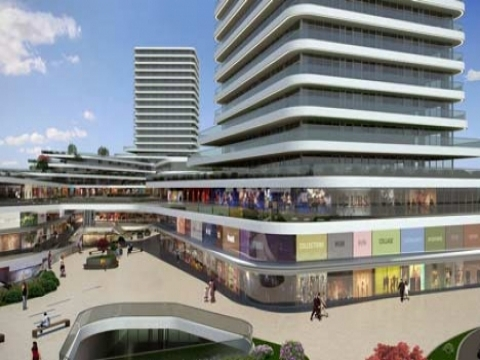 Merter Platform Rezidans'ta metrekaresi 6 bin 500 lira! 2013'te teslim!