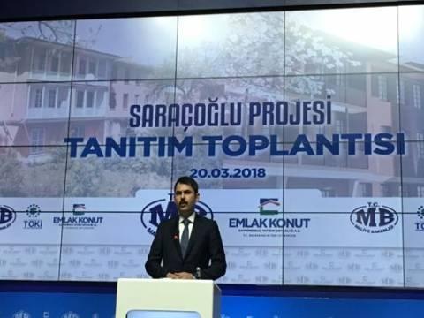 Emlak Konut Saraçoğlu projesi basına tanıtıldı!