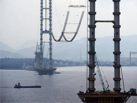İzmit Körfez Köprüsü 2015 sonunda trafiğe açılıyor!