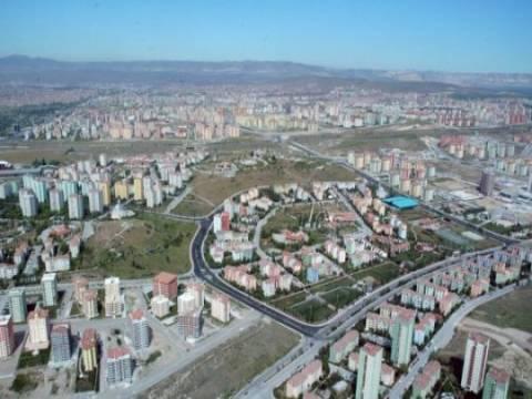 Ankara Etimesgut'ta bazı alanlarda kentsel dönüşüm yapılacak!