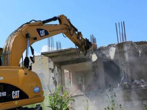 Bursa Yıldırım'da kaçak yapılara yıkım kararı!