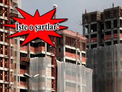 Bina tamamlama sigortasının genel şartları yayınlandı!