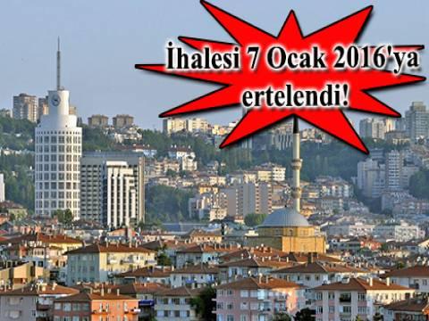 Ankara'daki 8 arsa 167.1 milyon TL'ye satılıyor!