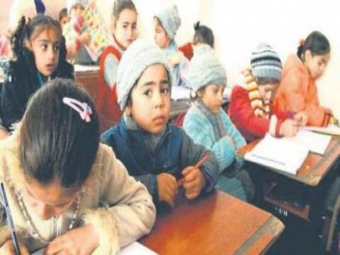 Türkiye'deki Suriyeli çocuklara okul yapılacak!