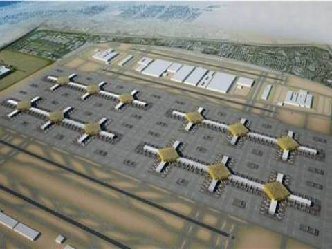 Üçüncü Havalimanı'na Körfez'den dev bir rakip çıktı!