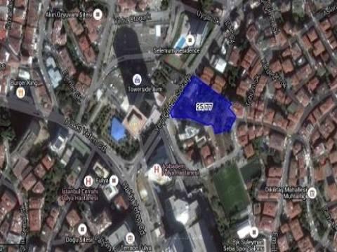 Beşiktaş Dikilitaş'ta 109.5 milyon TL'ye arsa satılıyor!