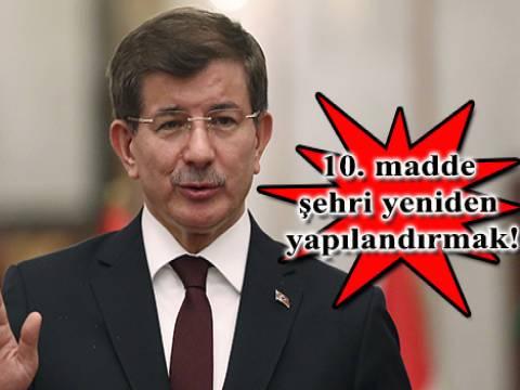 Başbakan Davutoğlu hükümetin ele alacağı ilk 10 maddeyi açıkladı!