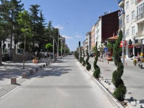 Konya Şeydişehir Belediyesi kentsel tasarım projeleri!