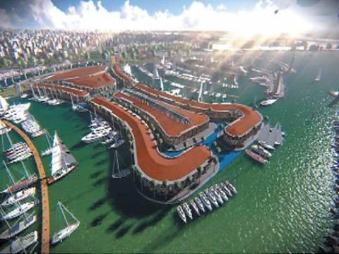 Viaport Marine Tuzla'yı uçuracak!