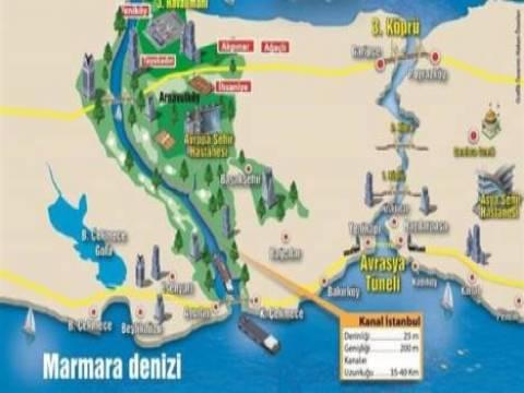 Kanal İstanbul projesinin güzergahı yüzde 95 netleşti!