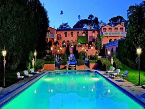 Beverly Hills'teki William Randolph Hearst'e ait olan ev satışta!