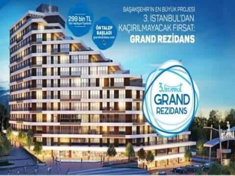 Başakşehir Grand Rezidans'ta 60 ay 0 faiz!