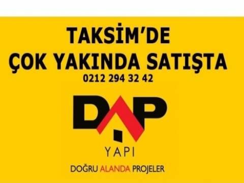 Dap Petek Taksim projesi!