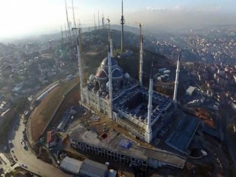 İşte Çamlıca Camisi'nin havadan görüntüleri!