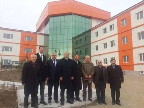 Yozgat Sorgun Meslek Yüksek Okulu'nun inşaat çalışmaları devam ediyor!