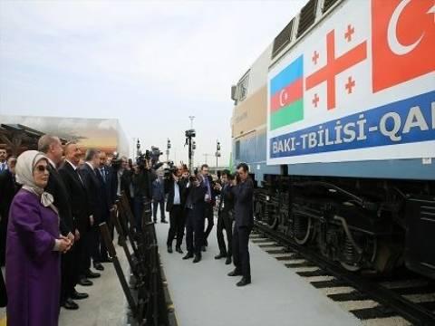 Bakü-Tiflis-Kars demiryolu hattı açıldı!